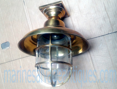 Ship ceiling shade passage light