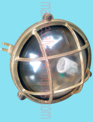 Round Bulkhead Light