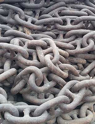 Ship Anchor Chains