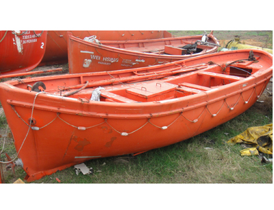 Open life boat