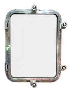 Rectangular Porthole Mirror