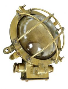 Antique Brass Bulkhead Lights
