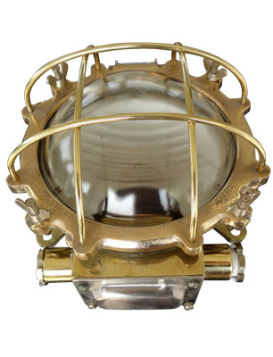 Brass Bulkhead Lights