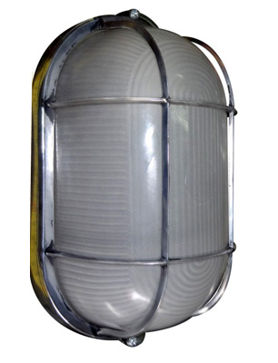 Oval Bulkhead Light