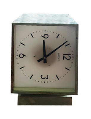 Square Double Clock